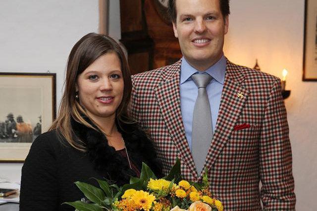 Jeannine N. und Karel Nölly  vom «Swiss-Chalet»